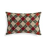"""Neela 20""""x13"""" Pillow with Feather-Down Insert"""