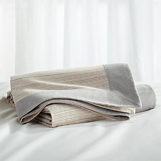 Neily Grey Full/Queen Blanket