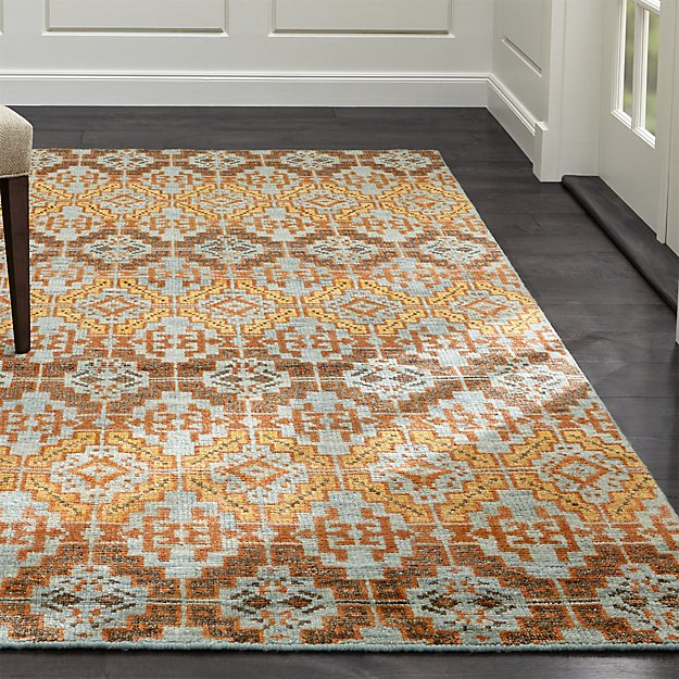 Nell Oasis Wool-Blend Rug