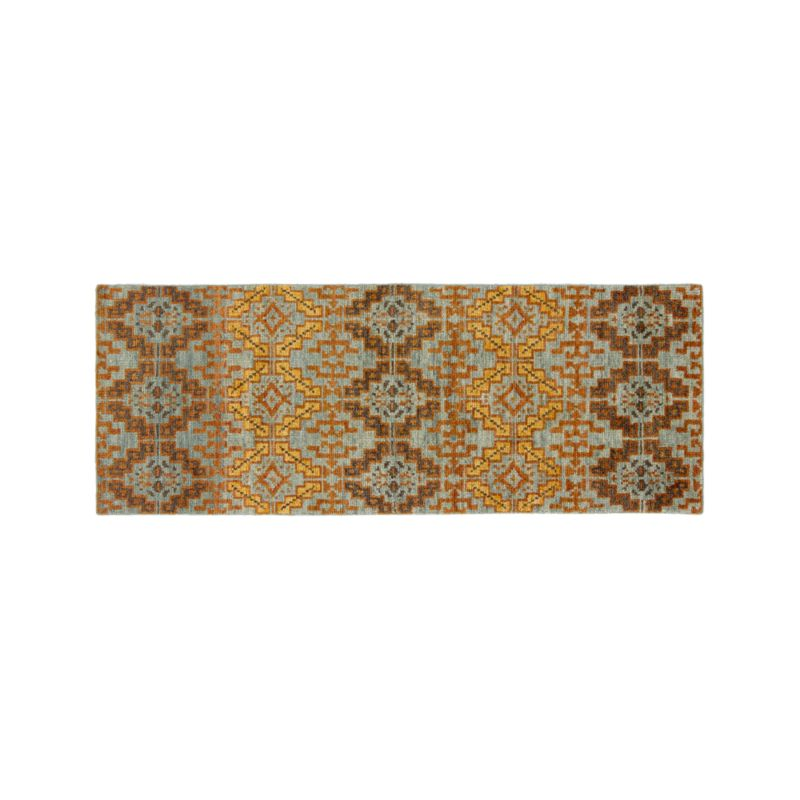 Nell Oasis Wool-Blend 2.5'x7' Rug