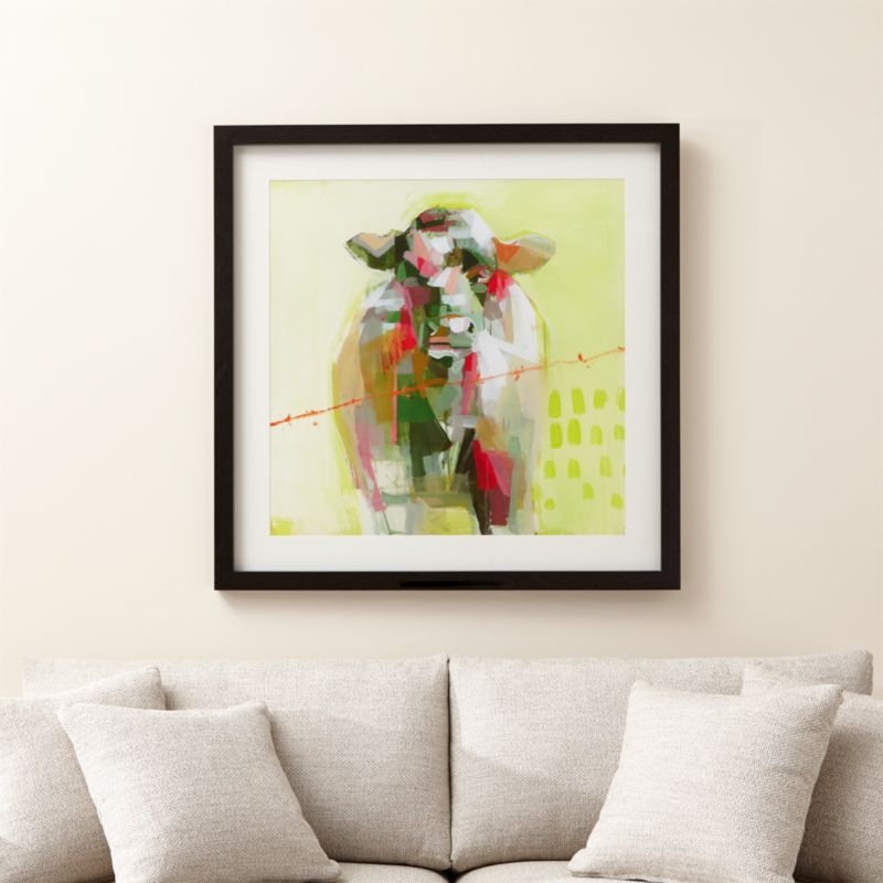 Neon Cattle Print