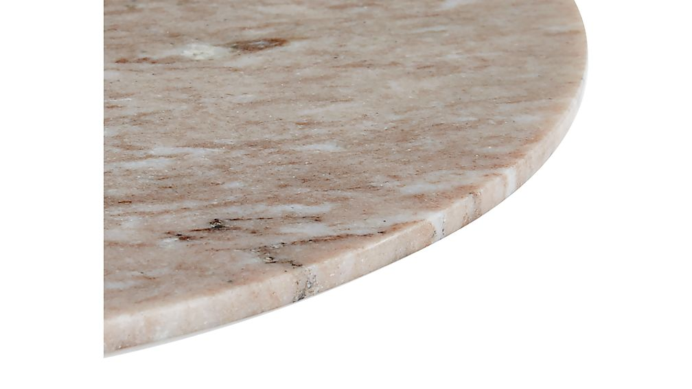 Nero Grey Marble Accent Table