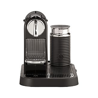 Nespresso ® Citiz Black Espresso Machine with Aeroccino Frother