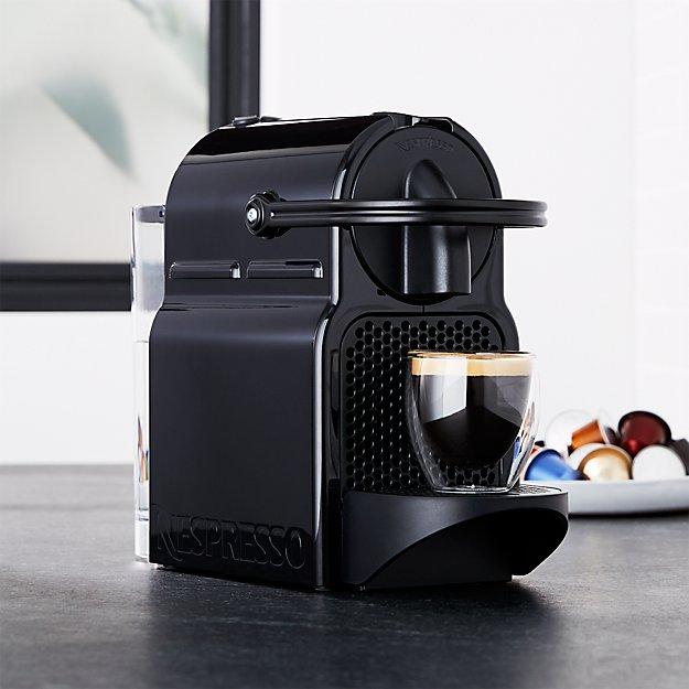 nespresso inissia espresso maker crate and barrel. Black Bedroom Furniture Sets. Home Design Ideas