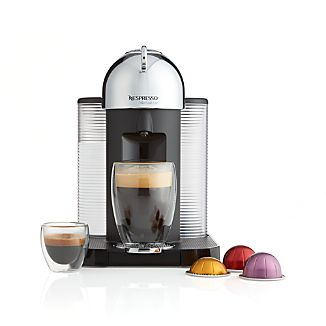 Nespresso ® VertuoLine Chrome Coffee-Espresso Maker