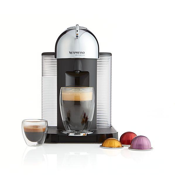 Nespresso ® VertuoLine Chrome Coffee-Espresso Maker
