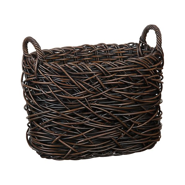 Nest Weave Storage Magazine Basket