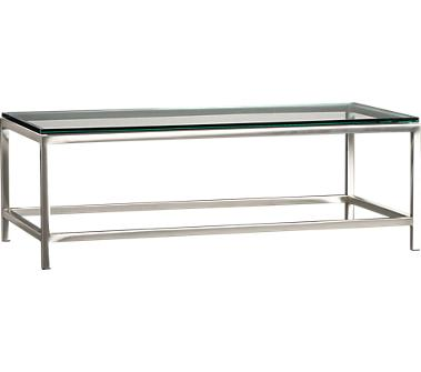 Crate and Barrel - Era Coffee Table shopping in Crate and Barrel Accent Tables