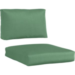 Newport Sunbrella® Bottle Green Lounge Chair Cushions