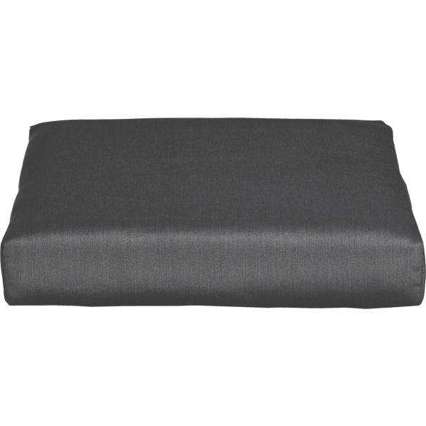 Newport Sunbrella ® Charcoal Modular Ottoman Cushion
