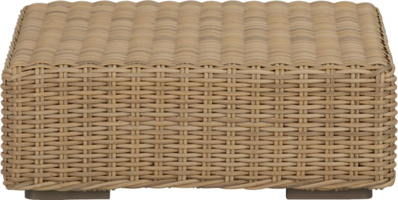 Low-slung and lounge-worthy, our Newport collection extends a welcome invitation to kick back and relax. Modern, squared profiles mix and match to suit your space, handwoven in a contemporary, chunky weave of eco-friendly, care-free resin wicker neatly wrapped over clean aluminum frames with a taupe powdercoat finish.<br /><br /><NEWTAG/><ul><li>Handwoven</li><li>100% recyclable polyethylene resin wicker</li><li>Aluminum frame with powdercoat finish</li><li>UV-resistant</li><li>Made in Indonesia</li></ul>