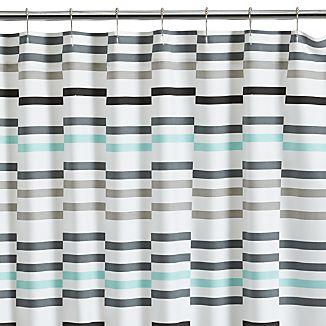 Newport Seafoam Shower Curtain