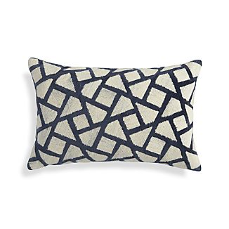 "Nikko Blue 20""x13"" Pillow"