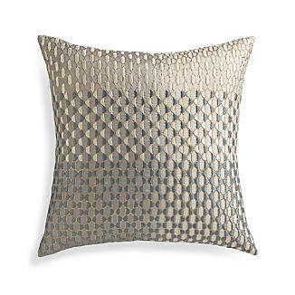 "Nikolai 18"" Pillow with Feather-Down Insert"