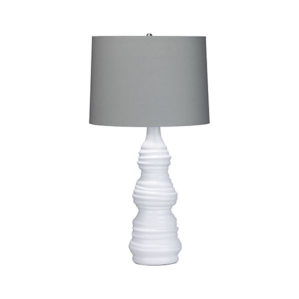 nina table lamp in table desk lamps crate and barrel. Black Bedroom Furniture Sets. Home Design Ideas