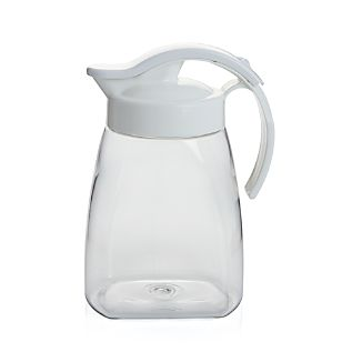 No Leak 1.4-Qt. White Pitcher