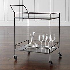 Noir Bar Cart