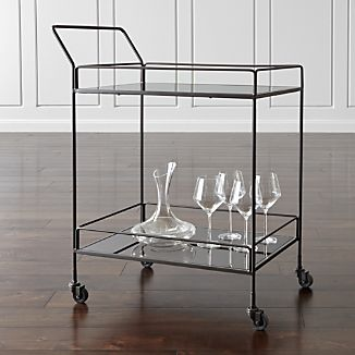 Noir Bar Cart