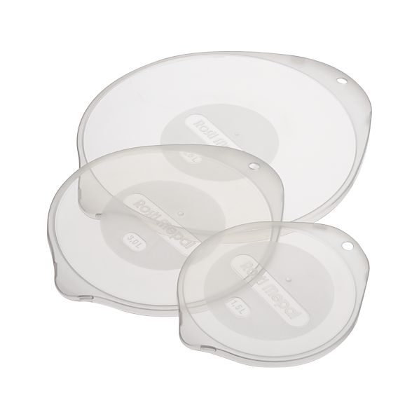 3-Piece Nonslip Mixing Bowl Lid Set