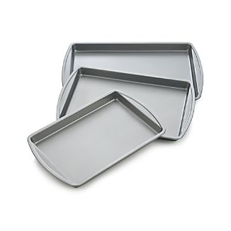 Set of 3 Non-stick Baking Sheets