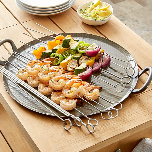 Non-Stick Barbecue Skewers Set of 12