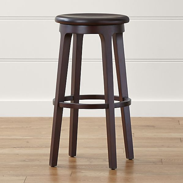 Nora Swivel Backless Bar Stool
