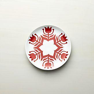 "Nordic Snowflake 8"" Dessert Plate"