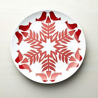 Nordic Snowflake Platter