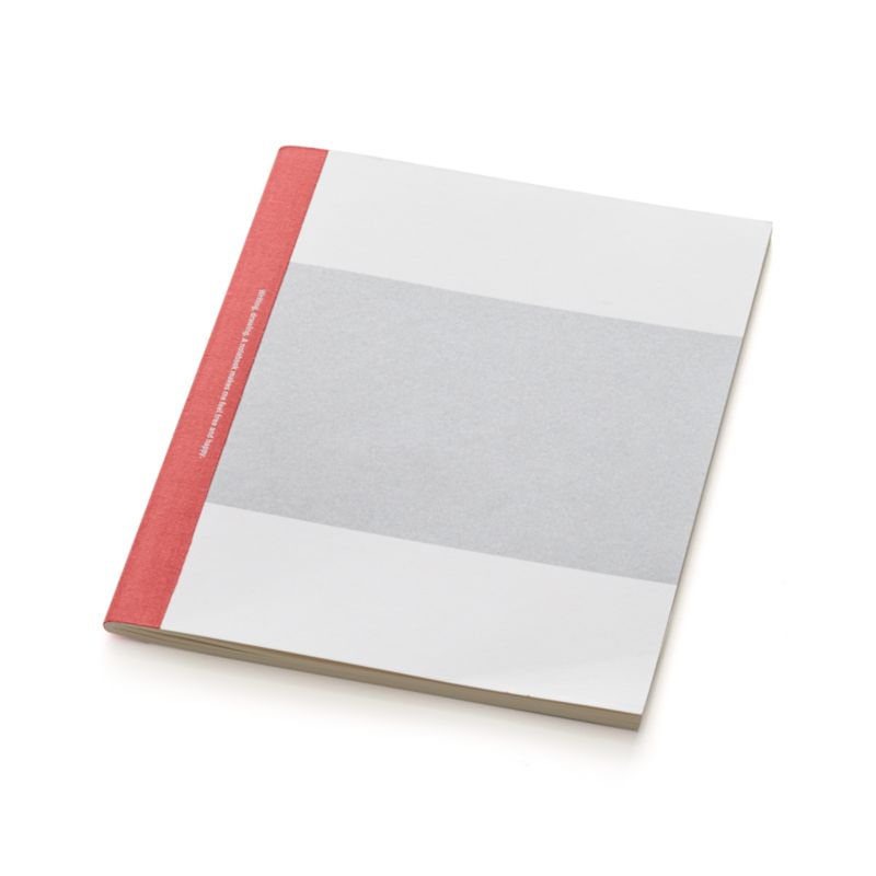 Vivid red spine contrasts with soft grey cover inviting you to fill this notebook's pages with notes, memoirs, poems or drawings.<br /><br /><NEWTAG/><ul><li>Paper</li><li>100 lined pages</li><li>Cotton spine</li><li>Made in China</li></ul>
