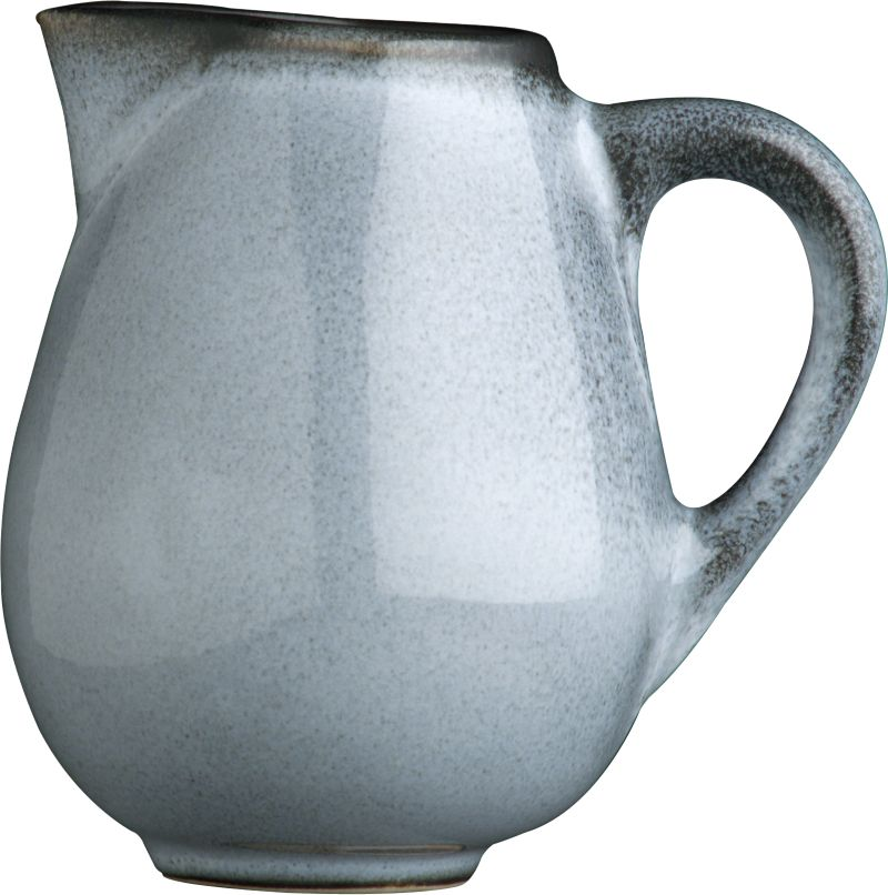 Day or night our Nuit glazed creamer combines hues of twilight and midnight for a striking two-tone effect. Minimal modern styling allows the color drama to take center stage. Unique shapes are both casual and elegant; the inviting crackle glazing ensures that no two pieces are exactly alike. Quality and integrity of design from one of France's original ceramic factories, Jars Ceramics. Nuit dinnerware also available.<br /><br /><strong>Please note:</strong> This pattern will be discontinued in December 2013.<br /><br /><NEWTAG/><ul><li>Unique shapes</li><li>Crackle glazing</li><li>Dishwasher- and microwave-safe</li><li>Made in France</li></ul><br />