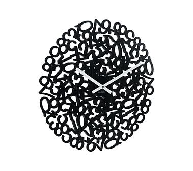 Crate and Barrel - Numbers Wall Clock shopping in Crate and Barrel Gift Ideas