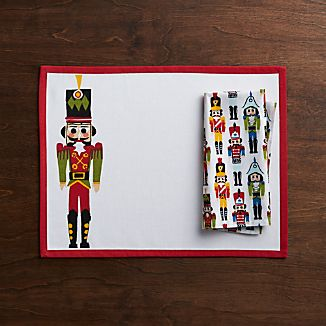 Nutcracker Placemat and Napkin