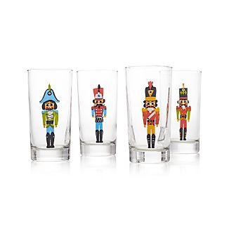 Set of 4 Nutcracker Glass Tumblers