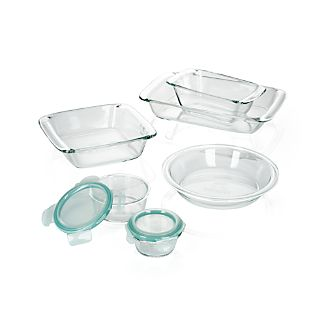 OXO ® 8-Piece Glass Bakeware Set
