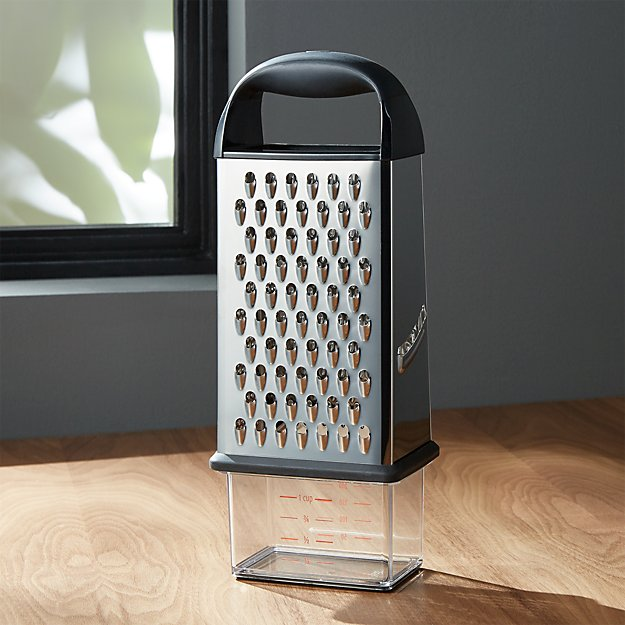 Oxo 174 Box Grater Crate And Barrel