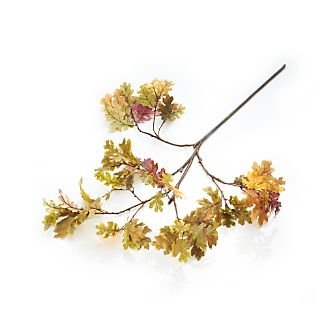 Oak Leaf Artificial Tree Branch