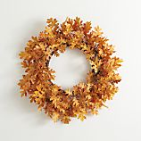 Oak Leaf Artificial Wreath