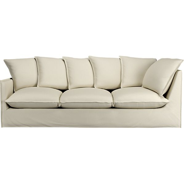 "Slipcover Only for Oasis 98"" Left Arm Corner Sectional Sofa"