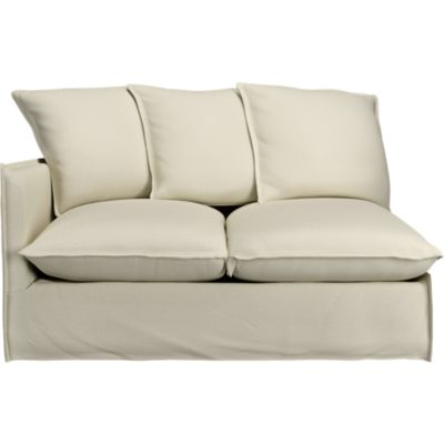 Oasis Left Arm Sectional Loveseat