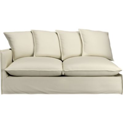 Slipcover Only for Oasis Left Arm Sectional Sofa