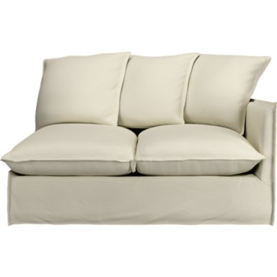 Slipcover Only for Oasis Right Arm Sectional Loveseat
