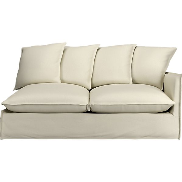 """Oasis 70"""" Right Arm Sectional Sofa"""
