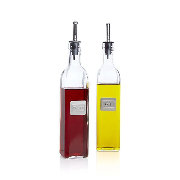 Oil and Vinegar Bottle Set