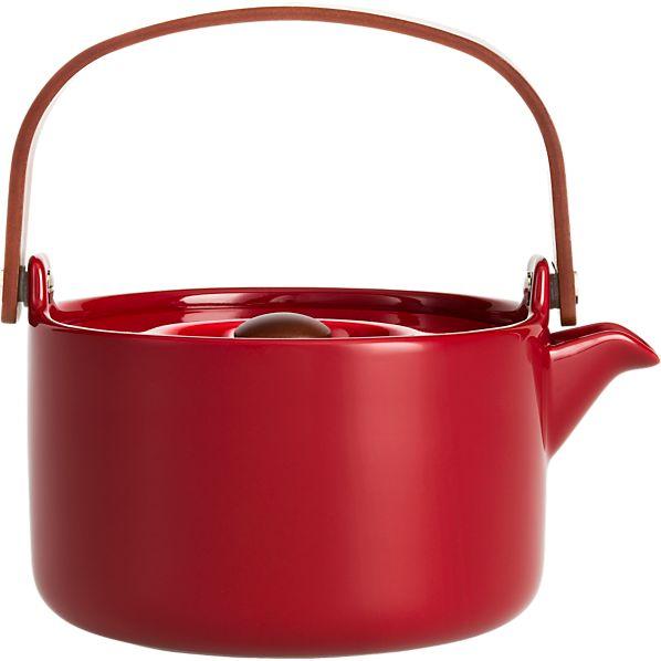 Marimekko Oiva Red Teapot