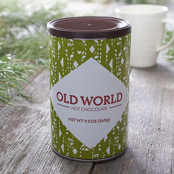 Old World Shaved Hot Chocolate