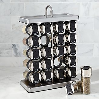 20-Jar Stationary Spice Rack