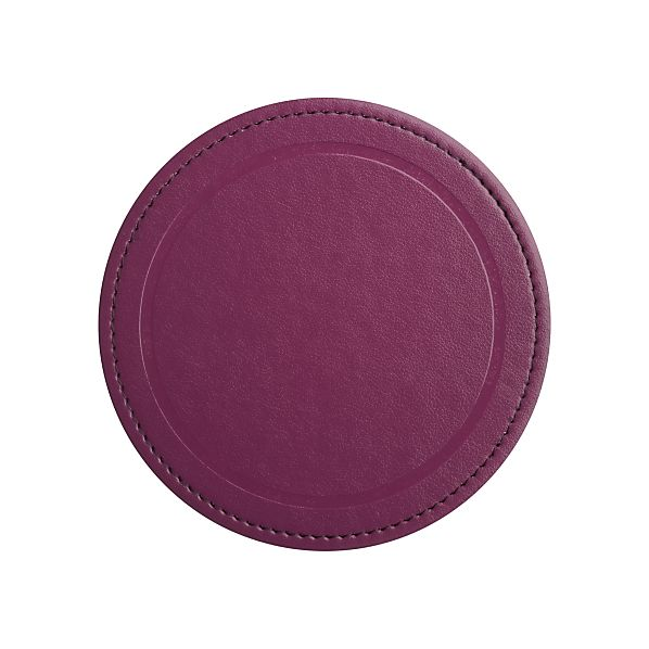 Ole Grape Coaster | Crate&Barrel | Coaster Set | Modern Home Decor