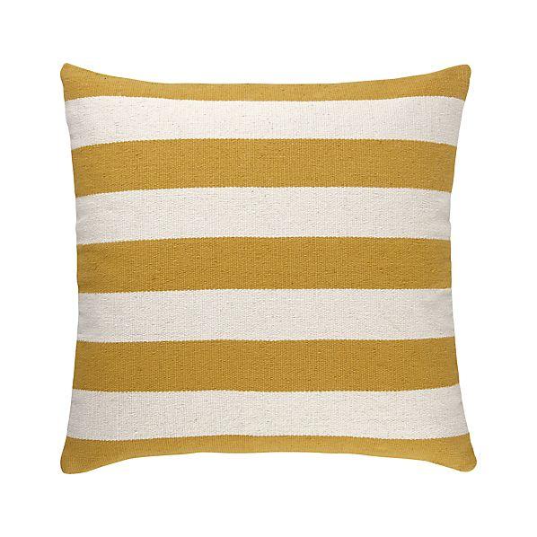 "Olin Gold 25"" Floor Pillow"