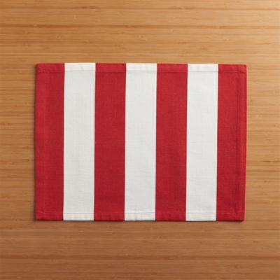 Olin Red Placemat