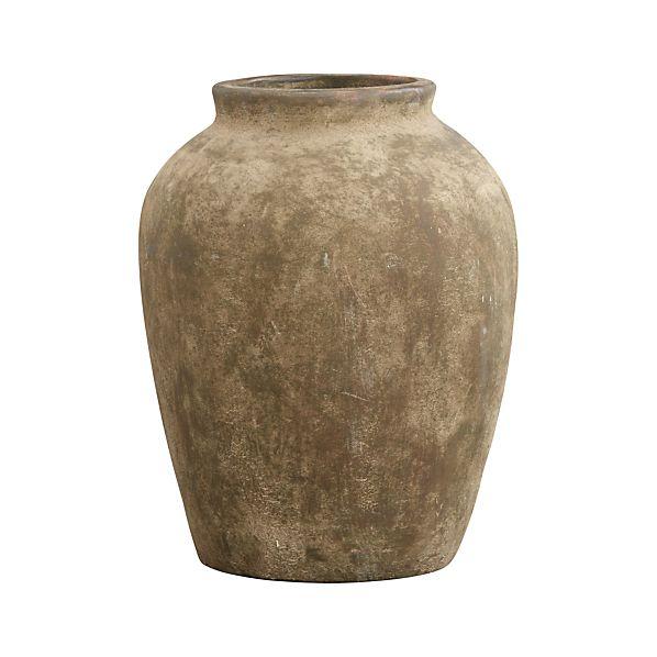 Medium Moss Olive Jar